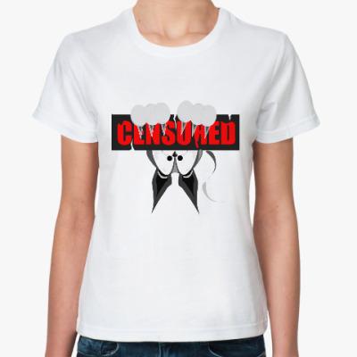 Классическая футболка Кот Антицензор