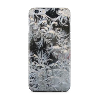 Чехол для iPhone 6 Plus морозный узор