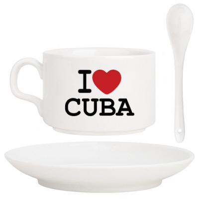 Кофейный набор I Love Cuba