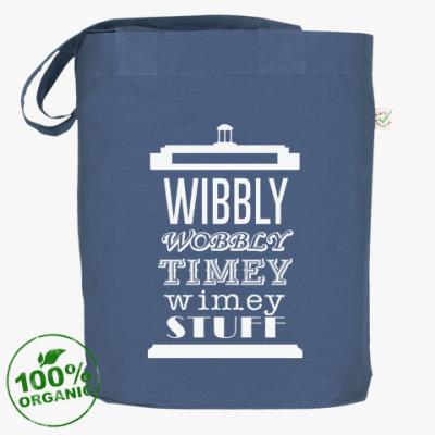 Сумка Wibbly Wobbly Timey Wimey Stuf