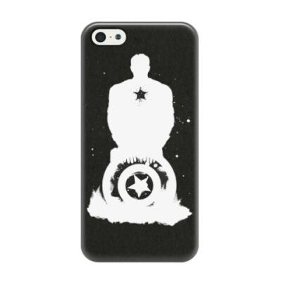 Чехол для iPhone 5/5s Captain America