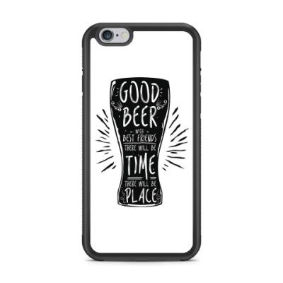 Чехол для iPhone Весёлая кружка (funny mug)