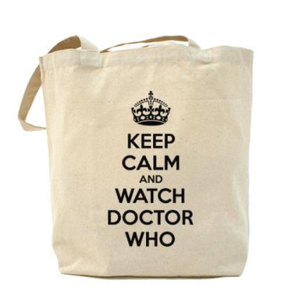 Сумка KEEP CALM and WATCH DOCTOR WHO