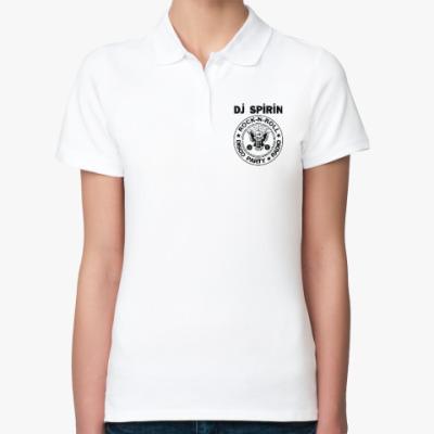 Женская рубашка поло Dj Spirin