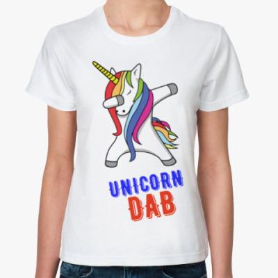 Классическая футболка UNICORN DAB