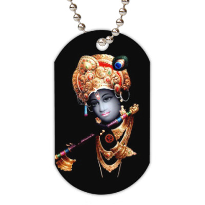 Жетон dog-tag Lord Krishna