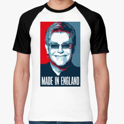 Футболка реглан Elton John