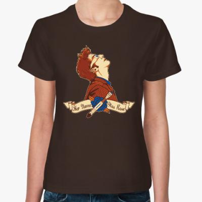 Женская футболка Ее имя - Роуз