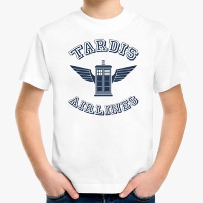 Детская футболка Tardis Airlines