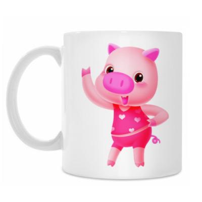 Кружка Love Pig