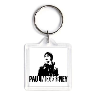 Брелок  3,9x3,9 Paul McCartney
