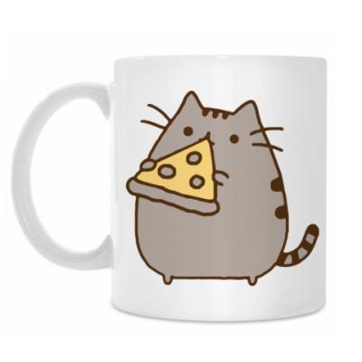 Кружка Pizza Cat