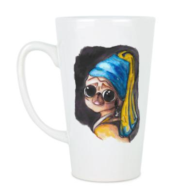 Чашка Латте Мопс