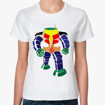 Классическая футболка  Робот