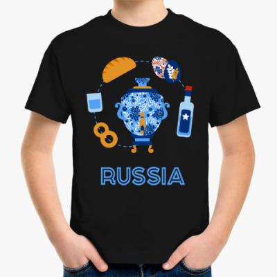 Детская футболка Russia, Россия