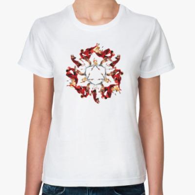 Классическая футболка Танец-страсть