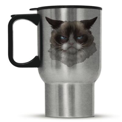 Кружка-термос Grumpy Cat / Сердитый Кот