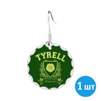 Серьги House Tyrell