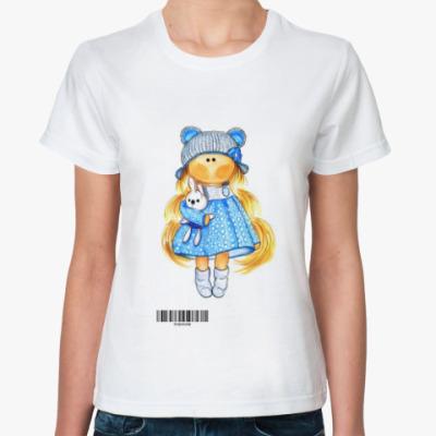 Классическая футболка Кукла