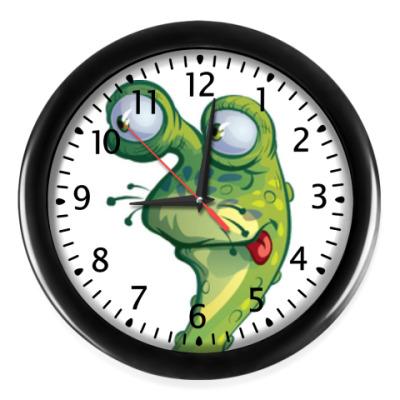 Настенные часы Монстрик
