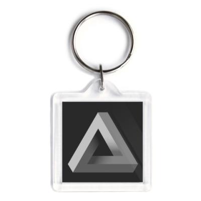Брелок Невозможный Треугольник 3D