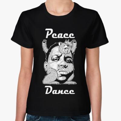 Женская футболка Peace dance