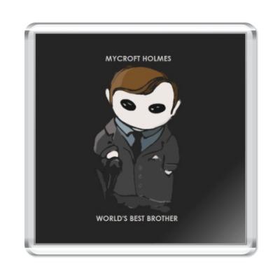 Магнит Sherlock Mycroft Holmes