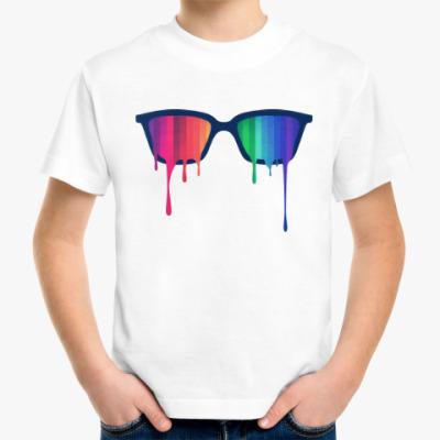 Детская футболка Хипстер: очки