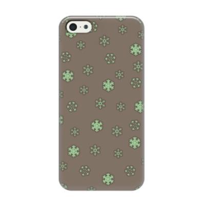 Чехол для iPhone 5/5s Снежок