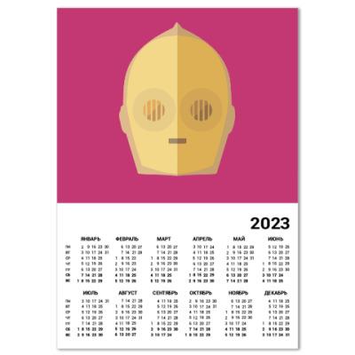 Календарь Star Wars: C-3PO