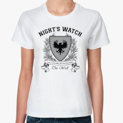Классическая футболка Night's Watch