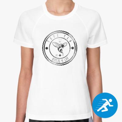 Женская спортивная футболка Логотип True10art
