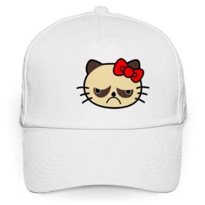Кепка бейсболка Grumpy Kitty