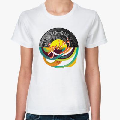 Классическая футболка Яркая сочная музыка весны