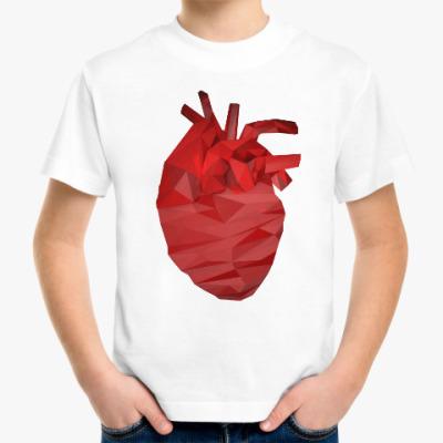 Детская футболка Сердце 3D
