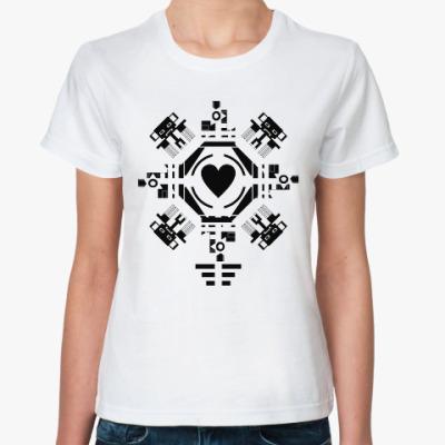 Классическая футболка Обезьянье сердце