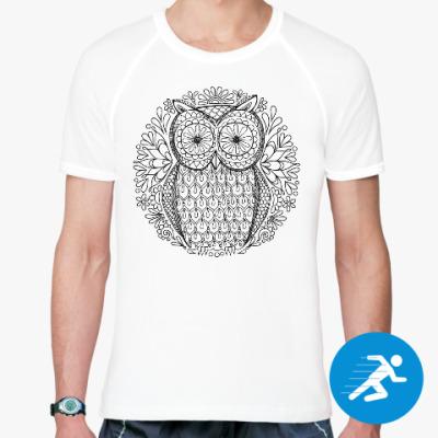 Спортивная футболка Сова