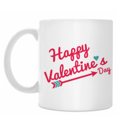 Кружка С днем святого Валентина