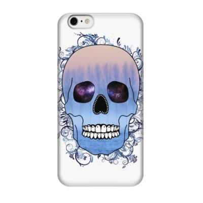Чехол для iPhone 6/6s Череп Зима