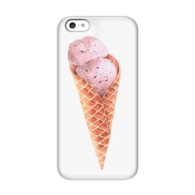 Чехол для iPhone 5c Мороженое