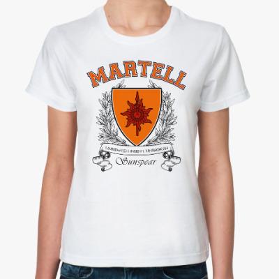 Классическая футболка House Martell