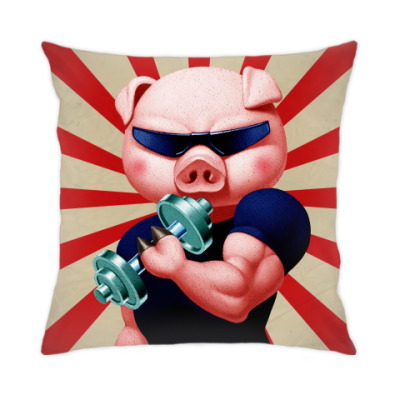 Подушка IRON PIG
