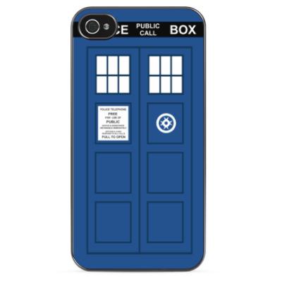 Чехол для iPhone TARDIS