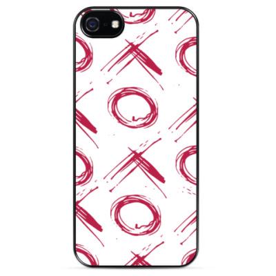 Чехол для iPhone Крестики-нолики