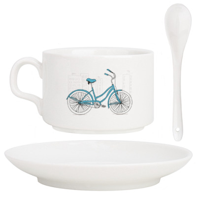 Кофейный набор Велосипед