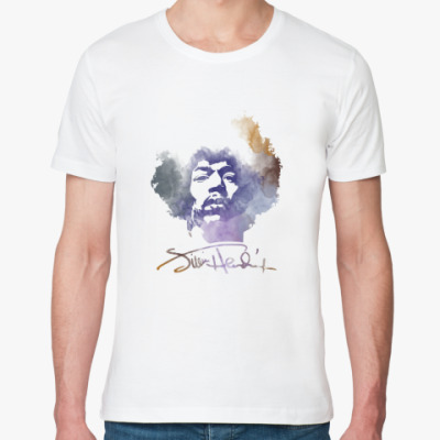 Футболка из органик-хлопка  Jimi Hendrix - Джими Хендрикс