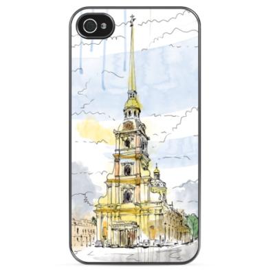 Чехол для iPhone Петропавловская крепость.