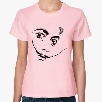 Женская футболка Сальвадор Дали