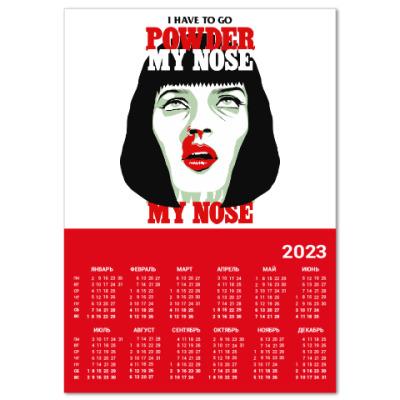 Календарь Mia Wallace Pulp Ficton