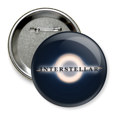 Значок 75мм Interstellar
